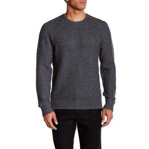 Jack Spade Shaker Stitch Ribbed Crew Sweater